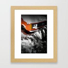 Snowbound Framed Art Print
