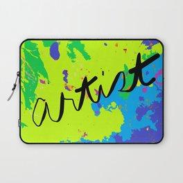 Artist's Paint Drop Cloth Laptop Sleeve