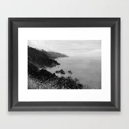 Big Sur - California Framed Art Print