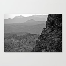 Waves of the West Canvas Print
