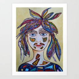 Spirit Woman Art Print