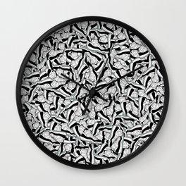 "Air Jordan 11 ""Concord"" Collage Print Wall Clock"