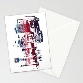 Fantasy city Stationery Cards
