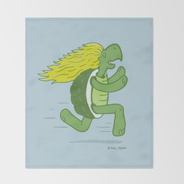 Tortoise and that Hair Throw Blanket