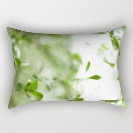 Green moods Rectangular Pillow