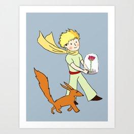 The Little Prince Art Print