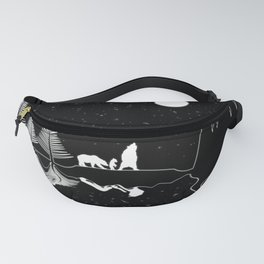 Be Wild Fanny Pack
