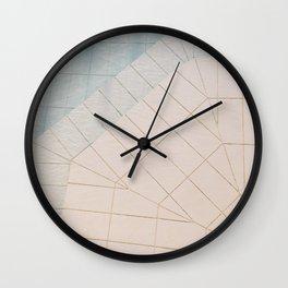 Swimming Pool II Wall Clock