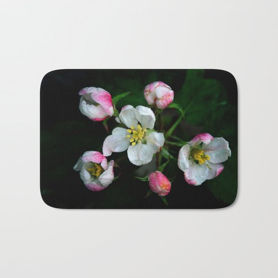 The beauty of apple blossoms Bath Mat