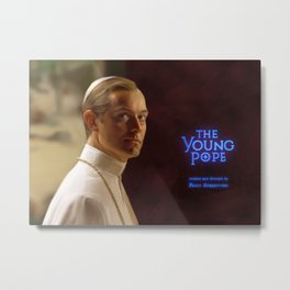 The Young Pope Metal Print