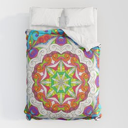 Drawing Floral Doodle G5B Comforters