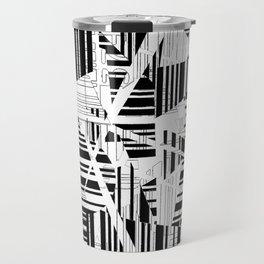 barcode cut Travel Mug