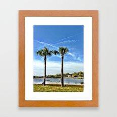 Come Relax Framed Art Print