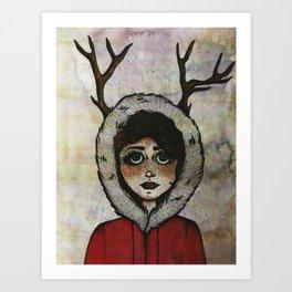 Miss Deary Art Print