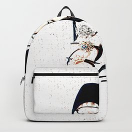 COCO GLAMOUR AND VINTAGE BALLERINA SHOES Backpack