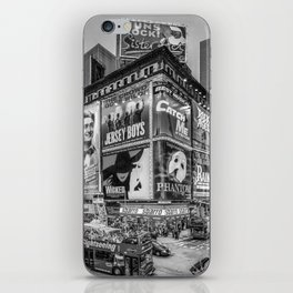 Times Square III Special Edition I (black & white) iPhone Skin