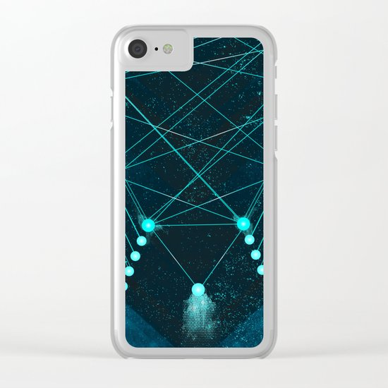 Mystic Space Clear iPhone Case