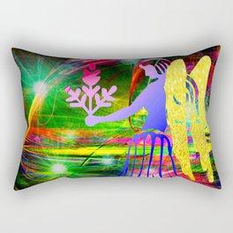 City Angel Rectangular Pillow