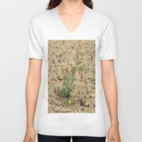 flower of life V-neck T-shirts featuring LIFE  by Four Hands Art