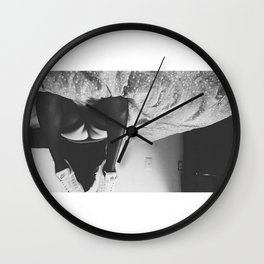 Dem Cheekz Wall Clock