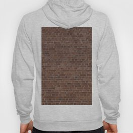 NYC Big Apple Manhattan City Brown Stone Brick Wall Hoody