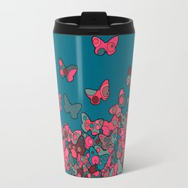 Flutterflies Travel Mug