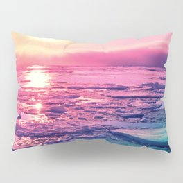 Pastel Sunset Waters Pillow Sham