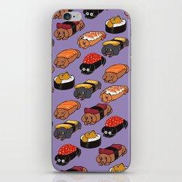 Sushi Daschunds iPhone Skin