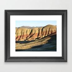 The Painted Hills II Framed Art Print