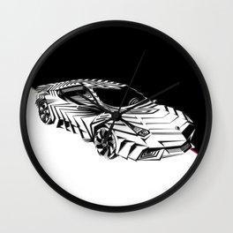 ///Lamborghini NuReventón XREEM\\\ Wall Clock