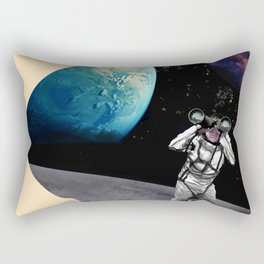 Exploration in Outer Space Rectangular Pillow