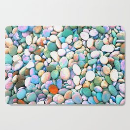 PEBBLES ON THE BEACH Cutting Board