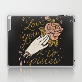 Love You to Pieces Laptop & iPad Skin