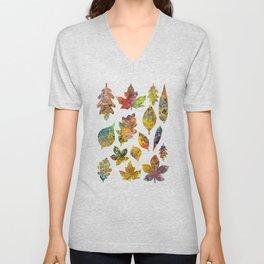 Fall colors Unisex V-Neck