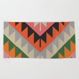 American Native Pattern No. 154 Beach Towel