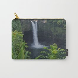 Rainbow Falls in Hawaii Carry-All Pouch