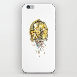 This is not the droid you're looking for iPhone Skin