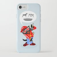 rap iPhone & iPod Cases featuring Cat's rap by Bakal Evgeny