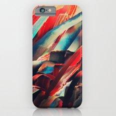 64 Watercolored Lines iPhone 6 Slim Case