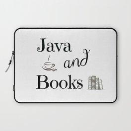 Java & Books Laptop Sleeve