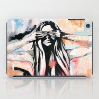scott pilgrim iPad Cases featuring The Pilgrim by KHCollaboration