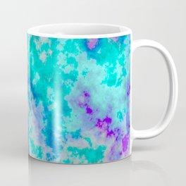 Turquoise and purple cloud art Coffee Mug