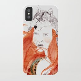 Wolf Girl iPhone Case