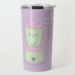 Mixed Feelings #kawaii #blender Travel Mug
