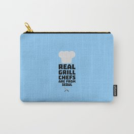 Real Grill Chefs are from Seoul T-Shirt D6ogi Carry-All Pouch