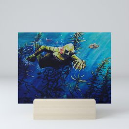 The creature from the black lagoon  Mini Art Print