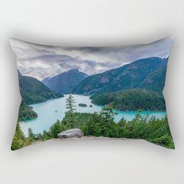 Crushing clouds Rectangular Pillow