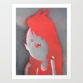 Marcie Art Print