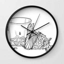 Thirsty Grouse Wall Clock