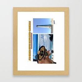 Carte Postale - Je n'avais rien à te dire Framed Art Print